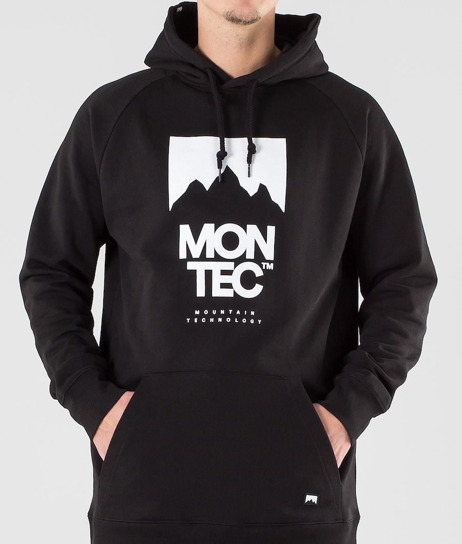 Montec Classic Sweat à capuche Black