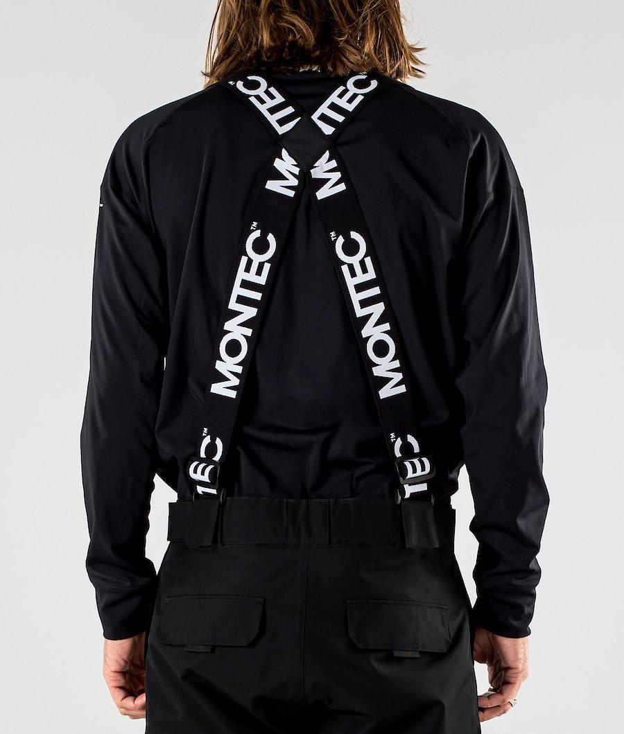 Montec Stayup Suspenders Black