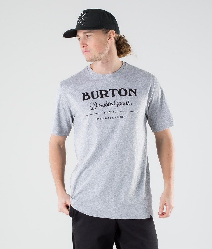 Burton Durable Goods T-shirt Gray Heather