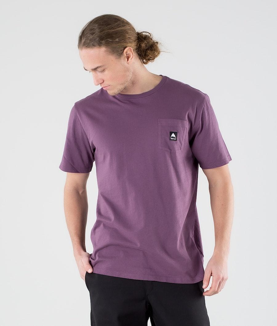 Burton Colfax T-shirt Dusk Purple