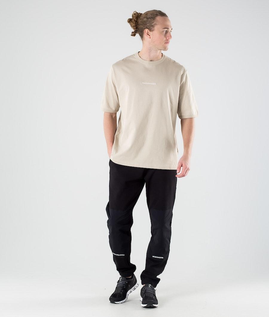 Peak Performance Stowaway T-shirt Celsian Beige