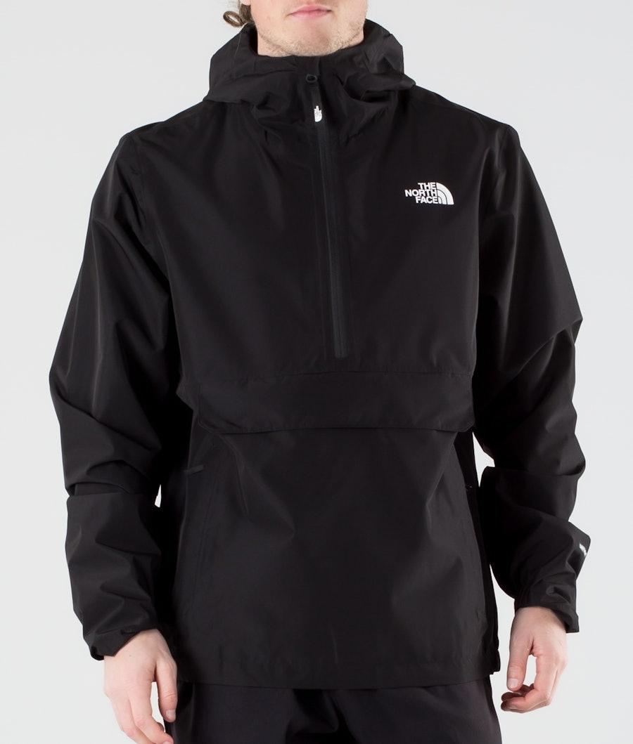 The North Face Waterproof Fanorak Rain Jacket Tnf Black