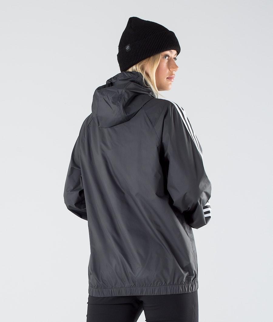 Adidas Terrex BSC 3 Stripes Wind Women's Outdoor Jacket Black