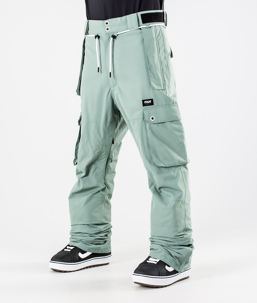 Dope Iconic Snowboard Pants Faded Green