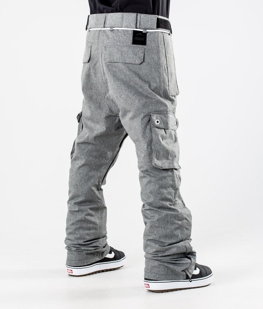 Dope Iconic Snowboard Pants Grey Melange