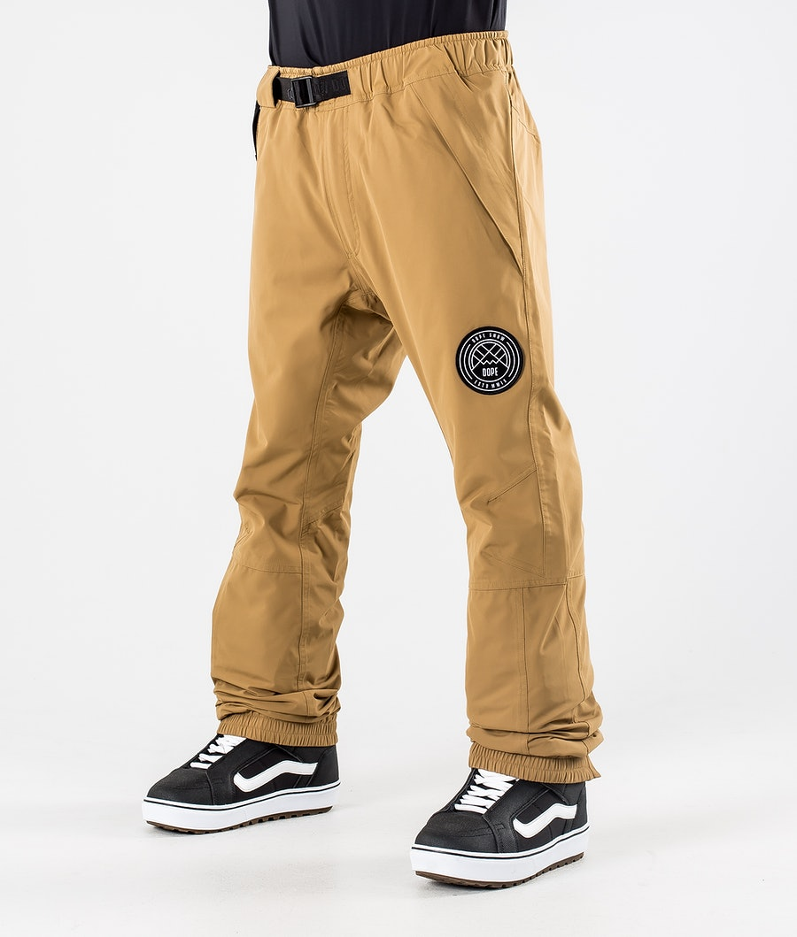 Dope Blizzard 2020 Snowboard Pants Gold