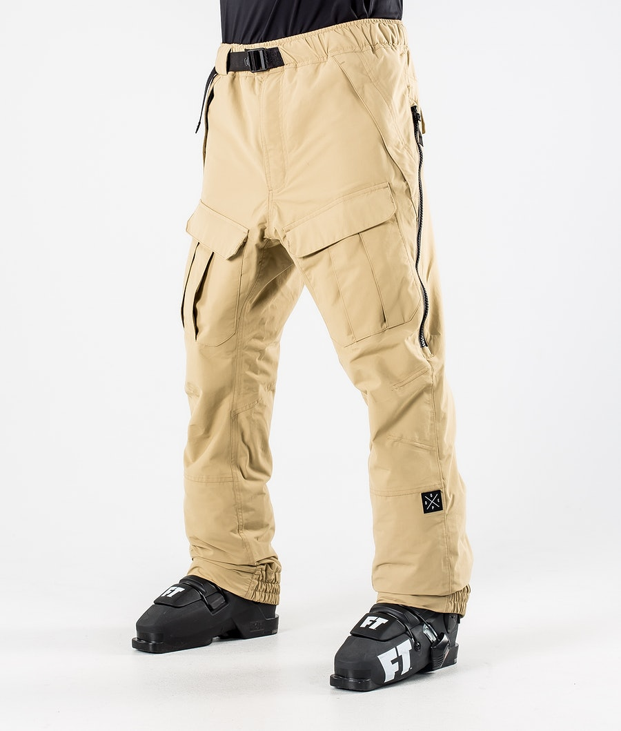 Dope Antek Ski Pants Khaki