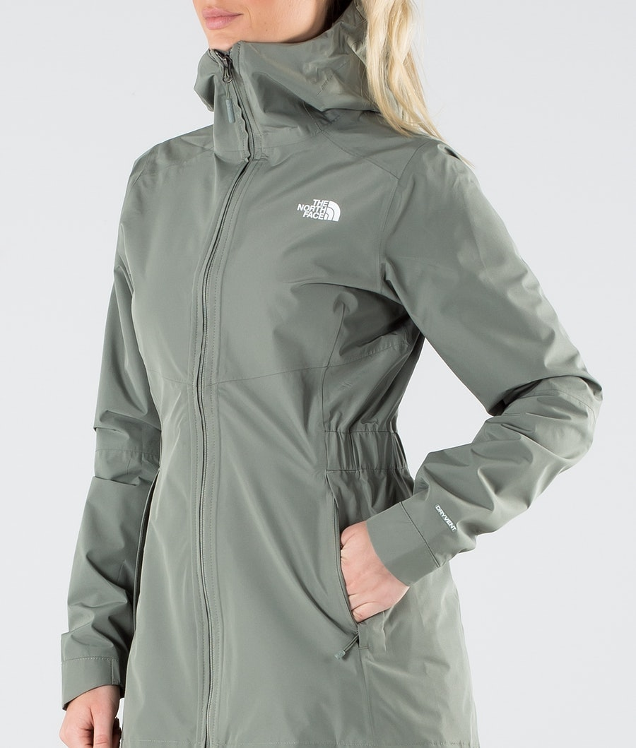 The North Face Hikesteller Parka Shell Giacca Outdoor Donna Agave Green
