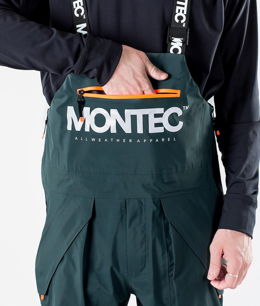 Montec Fenix 3L Snowboard Pants Dark Atlantic