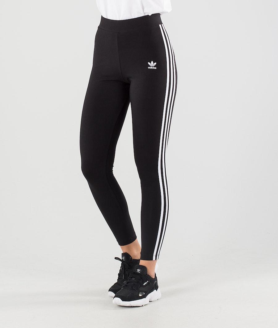 Adidas Originals 3 Stripes Women's Leggings Black
