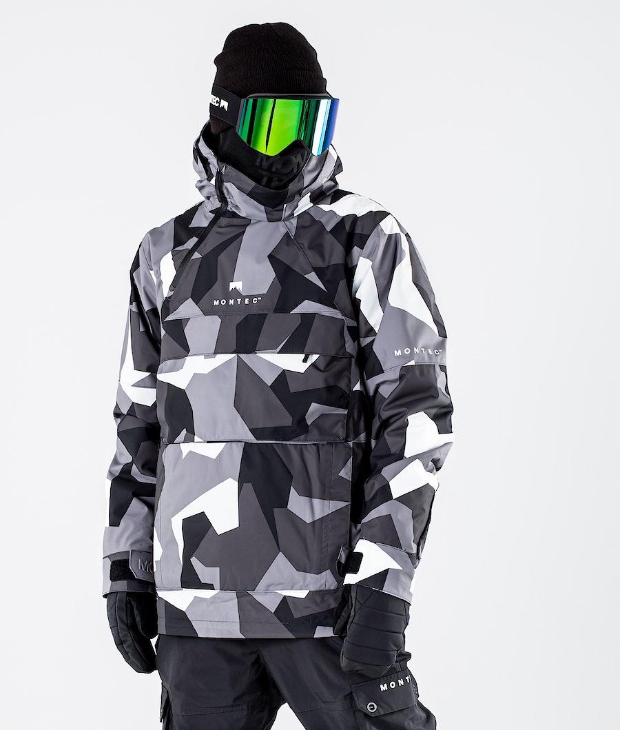 Montec Dune Snowboard Jacket Arctic Camo