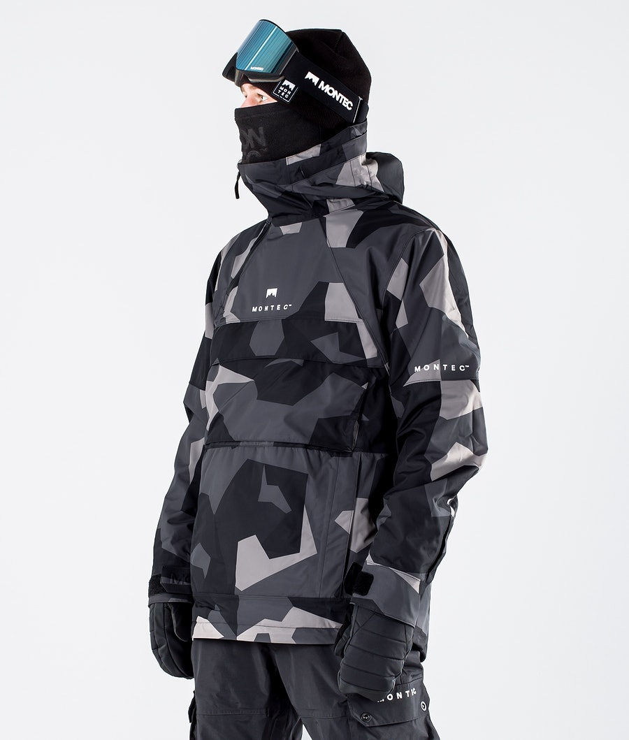 Montec Dune Snowboard Jacket Night Camo