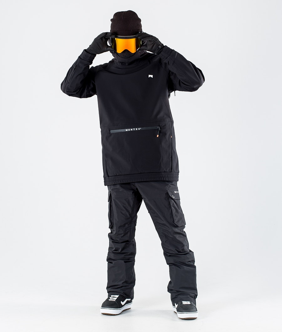 Montec Tempest Snowboard Jacket Black