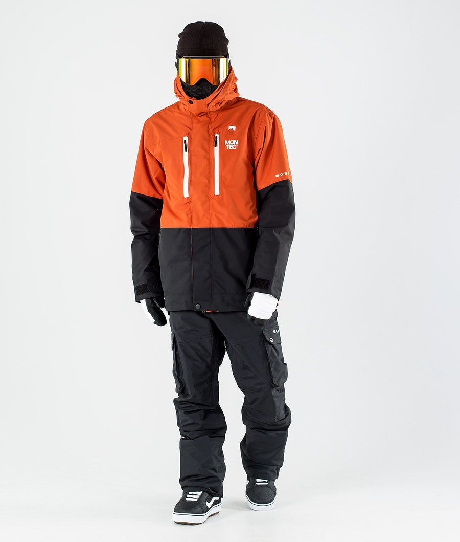 Montec Fawk Snowboard Jacket Clay/Black