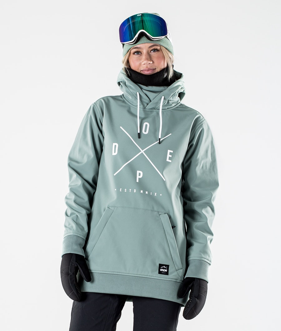 Yeti W Snowboard Jacket Women Faded Green