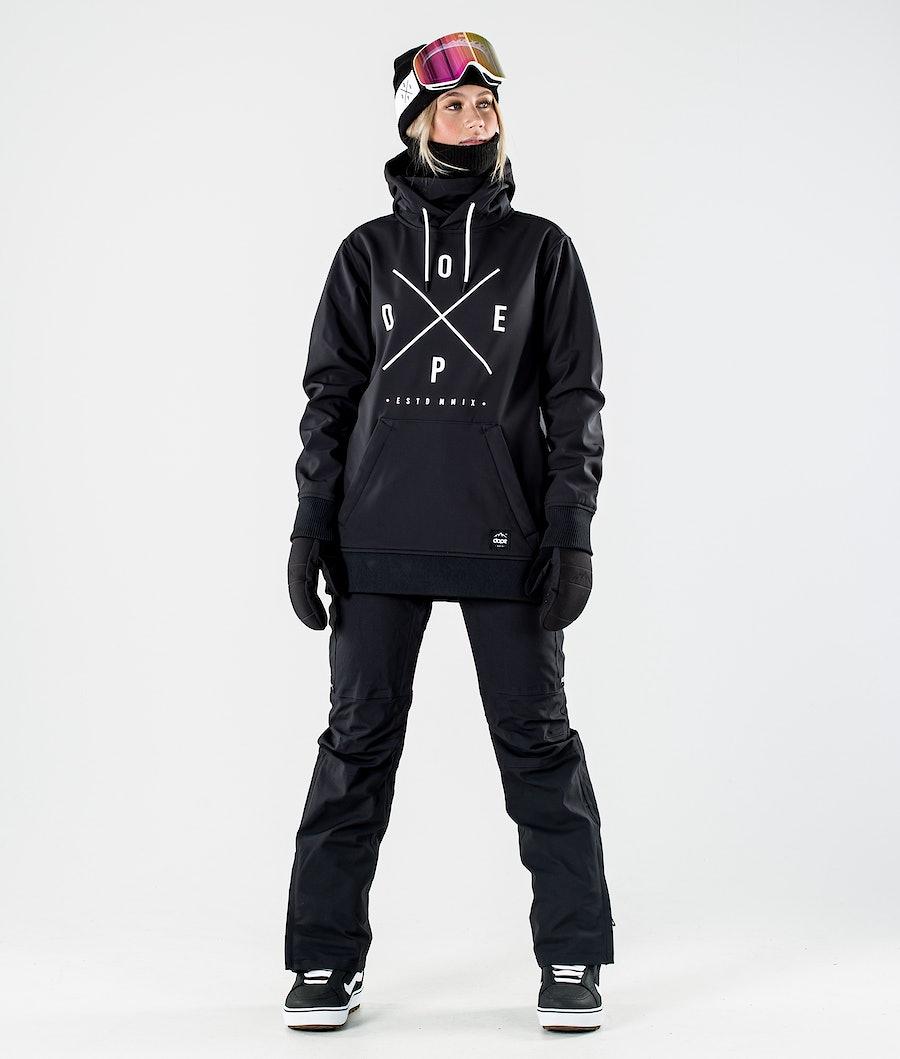 Dope Yeti W 10k Snowboardjakke Women's Black