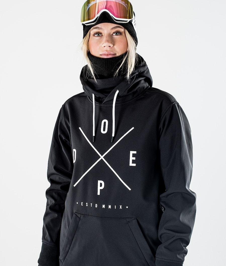 Dope Yeti W Ski jas Dames Black