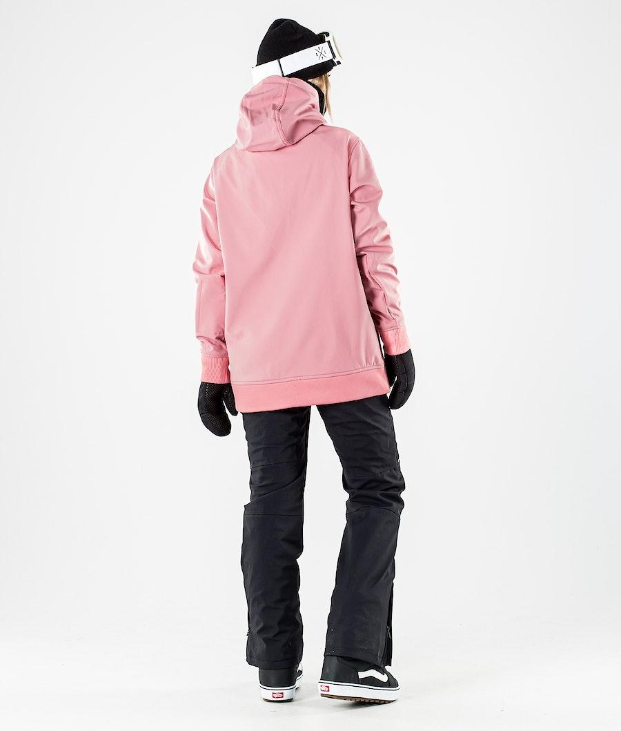Dope Yeti W Snowboard jas Dames Pink