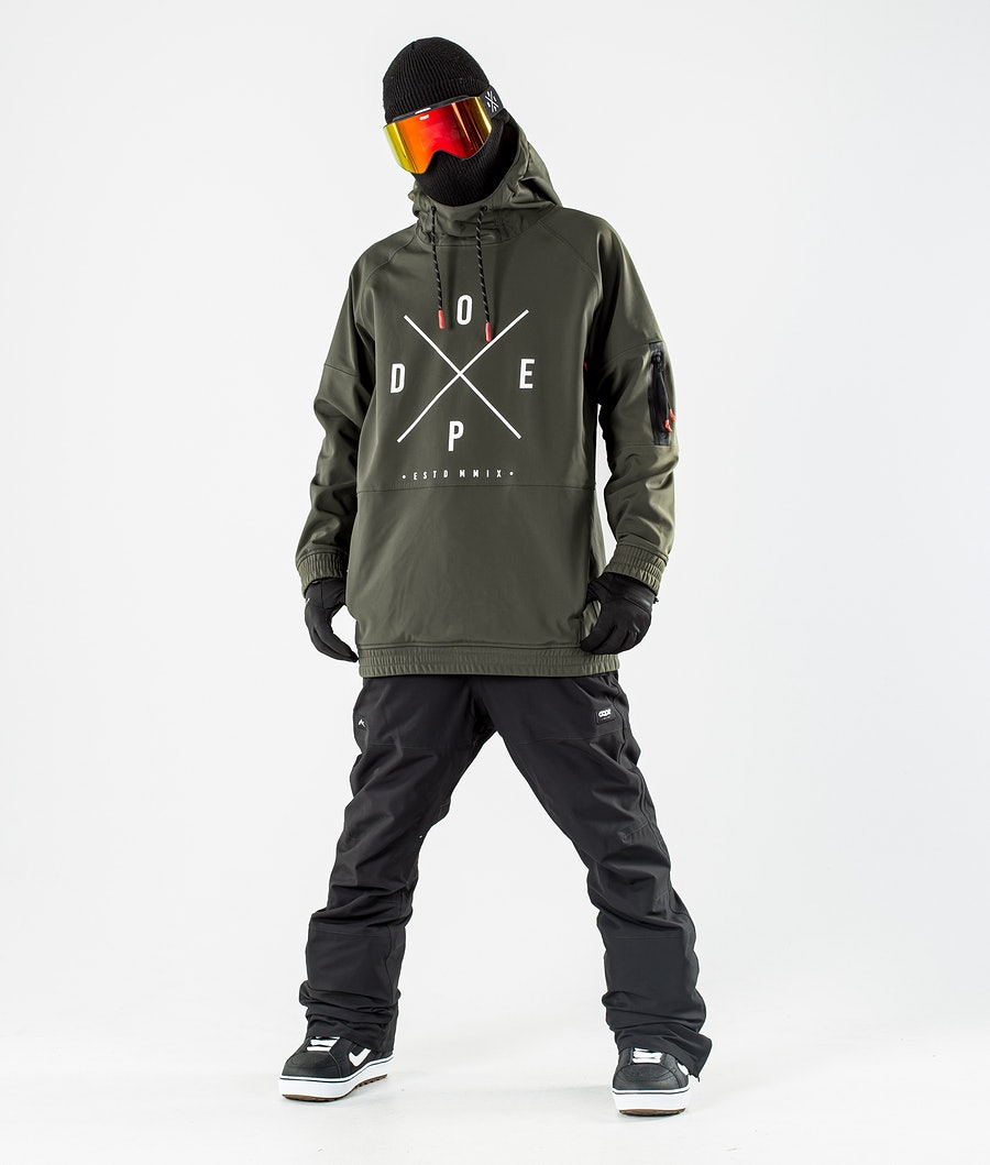 Dope Rambler MTE Snowboardjacke Green
