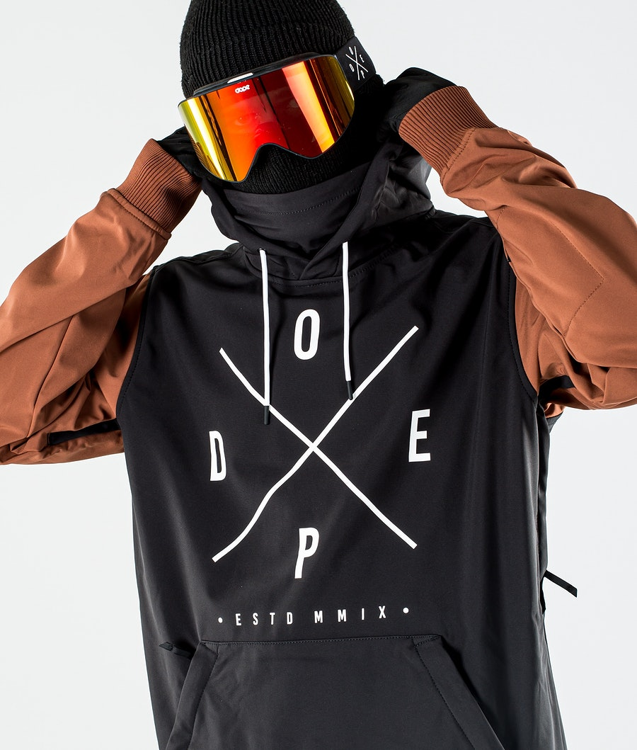 Dope Yeti Snowboardjacka Black/Adobe
