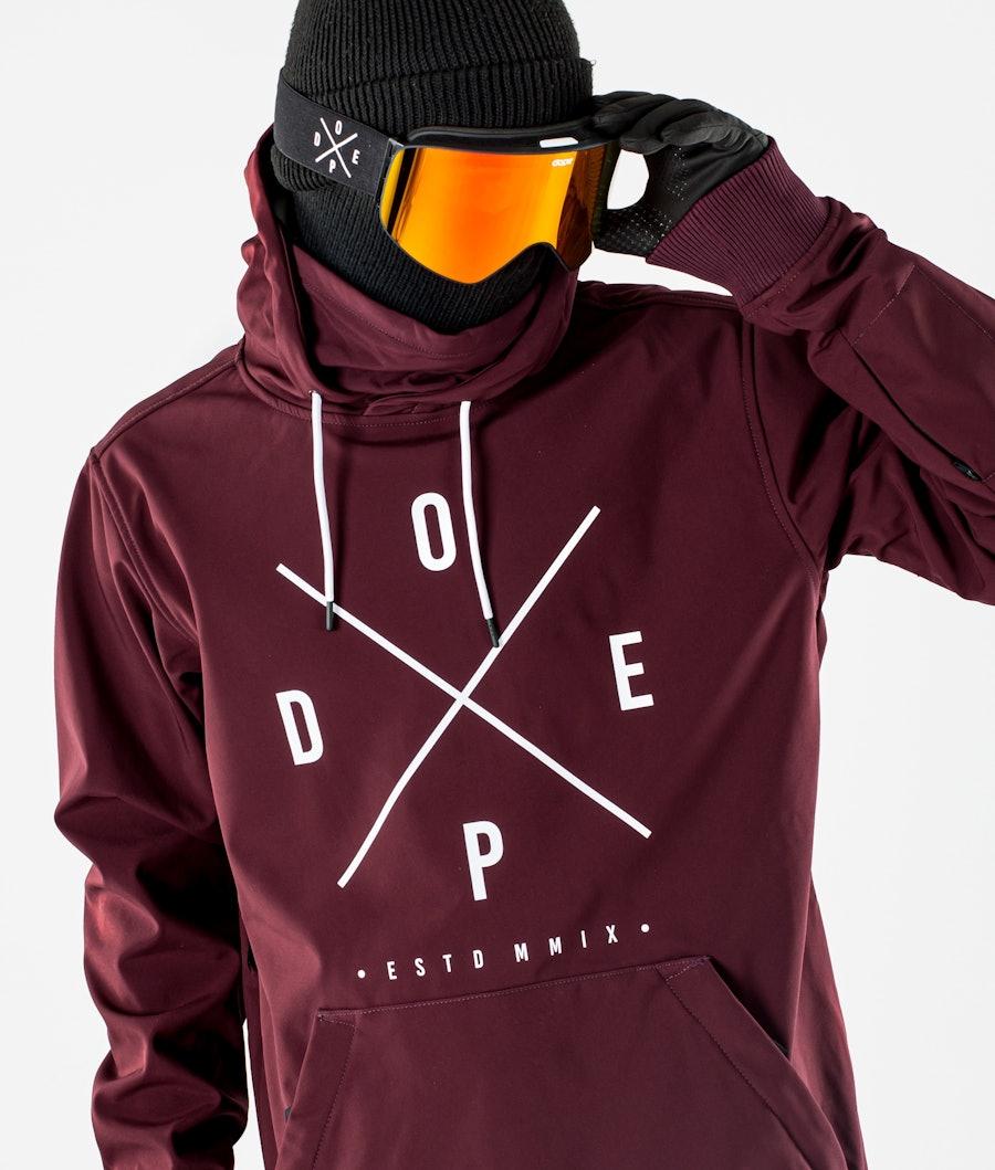 Dope Yeti Snowboard jas Burgundy