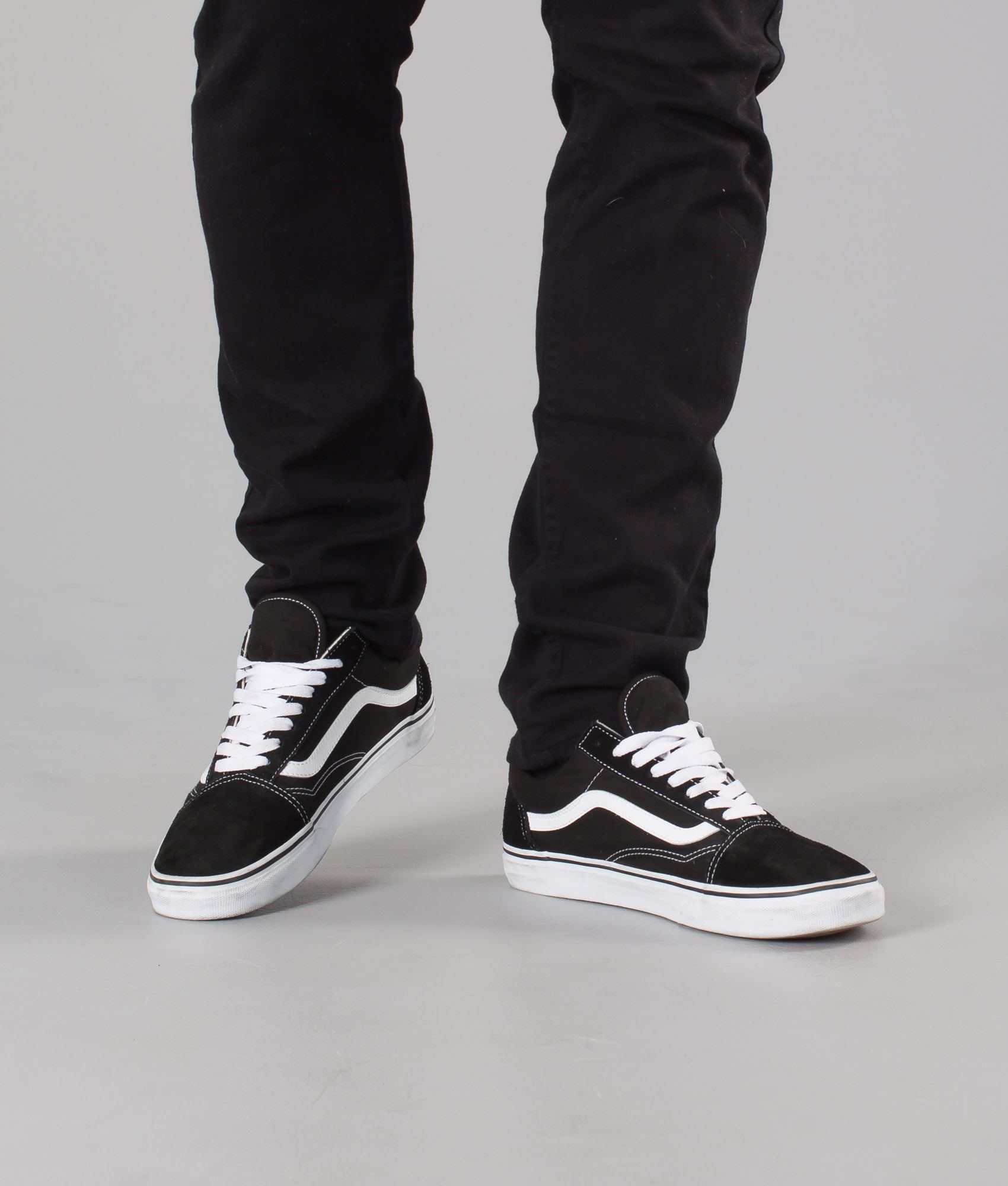 Vans Chez Skool Chaussures De Old Blackwhite TpwTrfZn