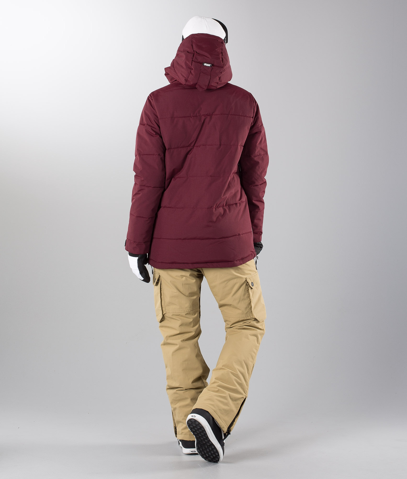 f5efe4bdacb0 Dope Puffer W Snowboard Jacket Burgundy - Ridestore.com