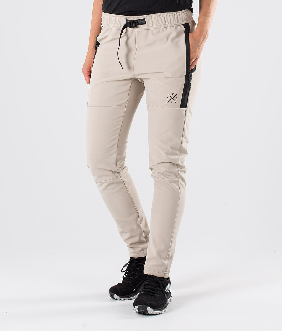 Dope Rambler W Outdoor Trousers Sand