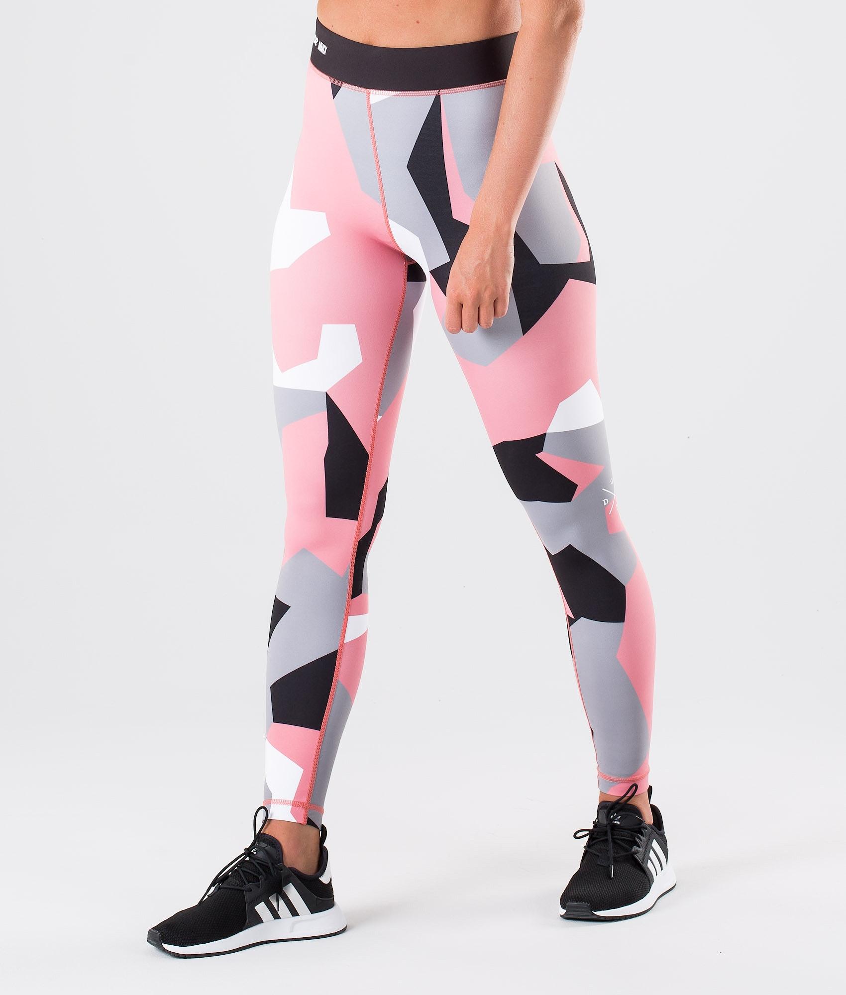 5400b9f8baaae Dope Razor Leggings Pink Camo - Ridestore.com