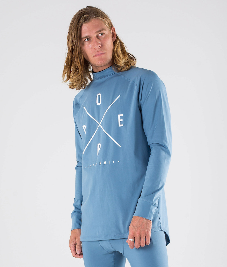 Dope Snuggle 2X-UP Superundertøy overdel Blue