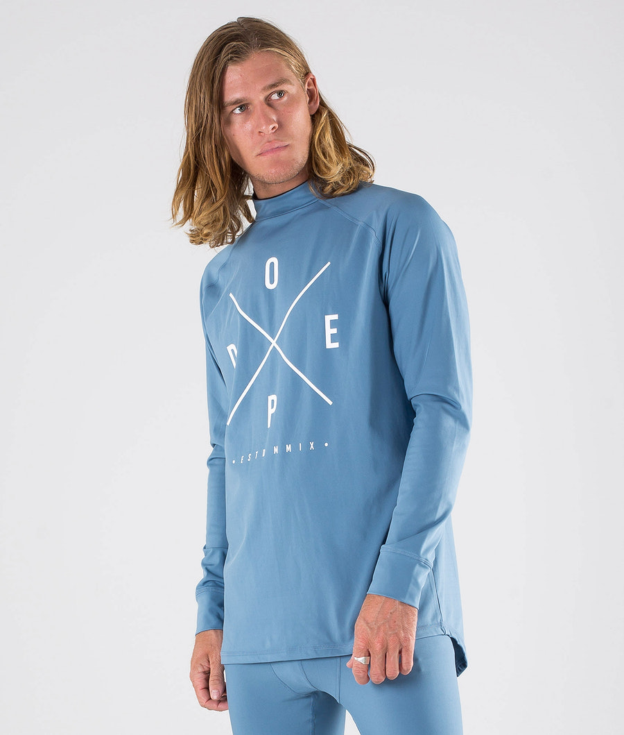 Dope Snuggle 2X-UP Base Layer Top Blue