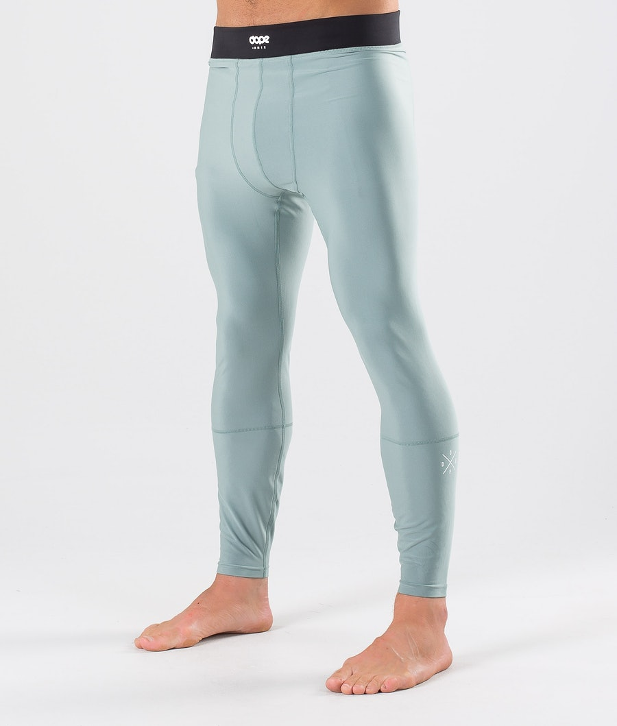 Dope Snuggle 2X-UP Pantaloni Termici Faded Green