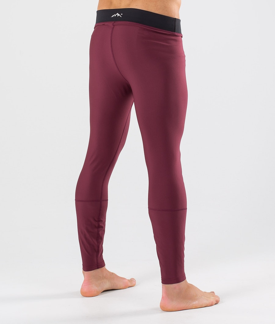 Dope Snuggle 2X-UP Base Layer Pant Burgundy