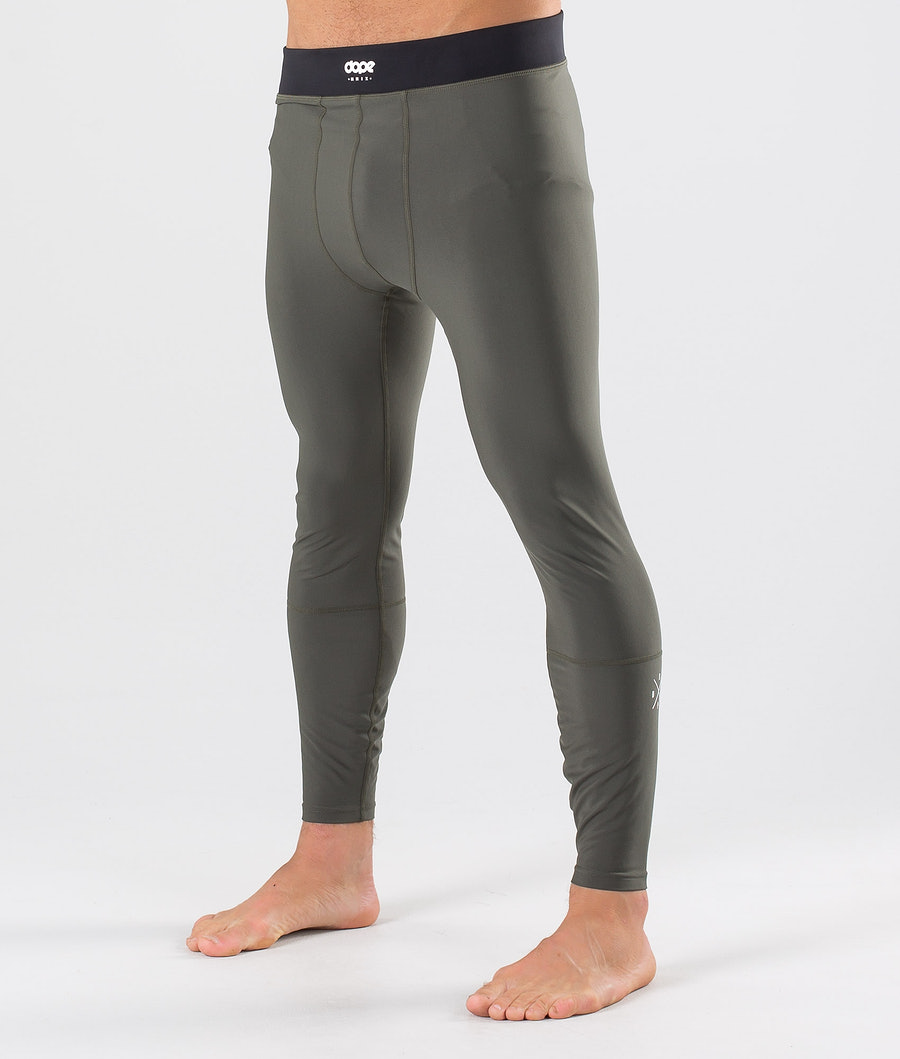 Dope Snuggle 2X-UP Base Layer Pant Green