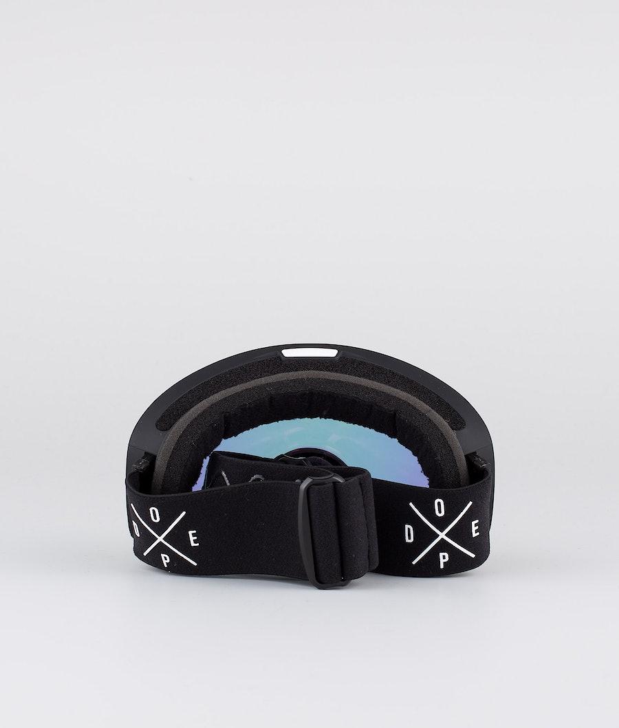 Dope Flush 2X-UP Skidglasögon Dam Black W/Black Pink Mirror