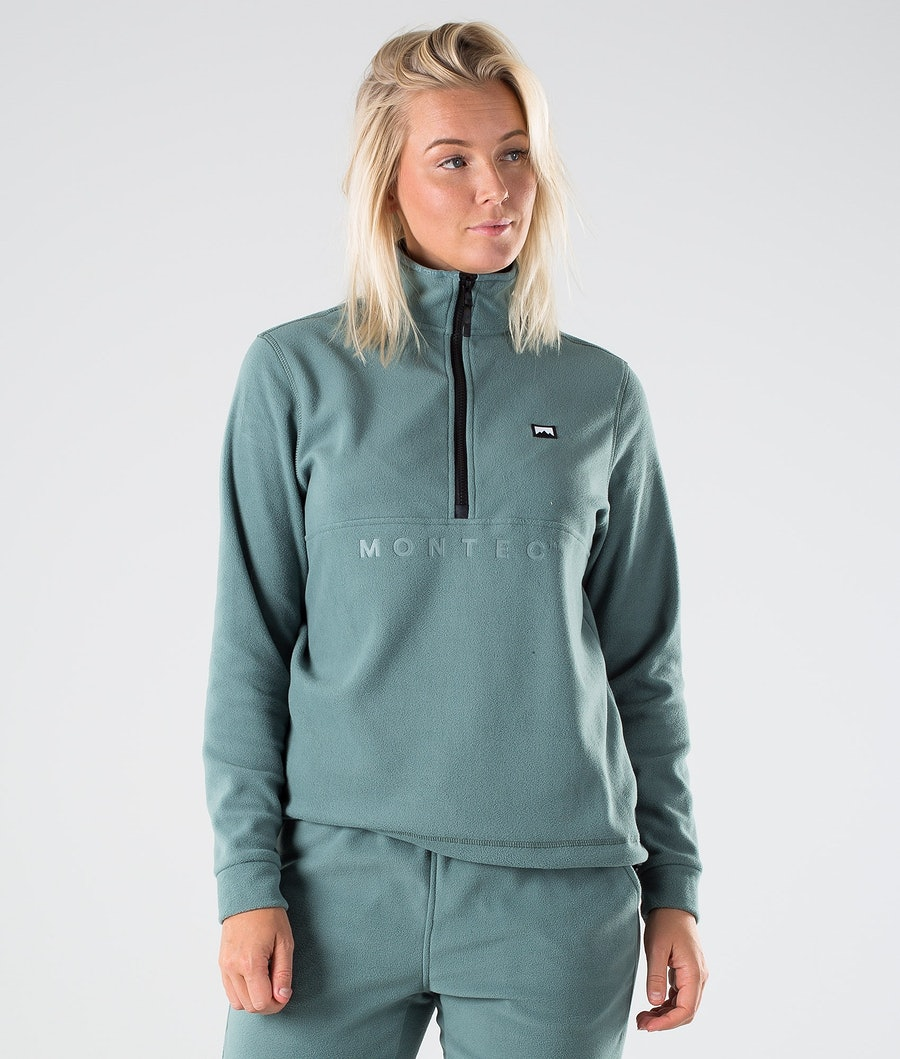 Montec Echo W Fleece Trui Atlantic
