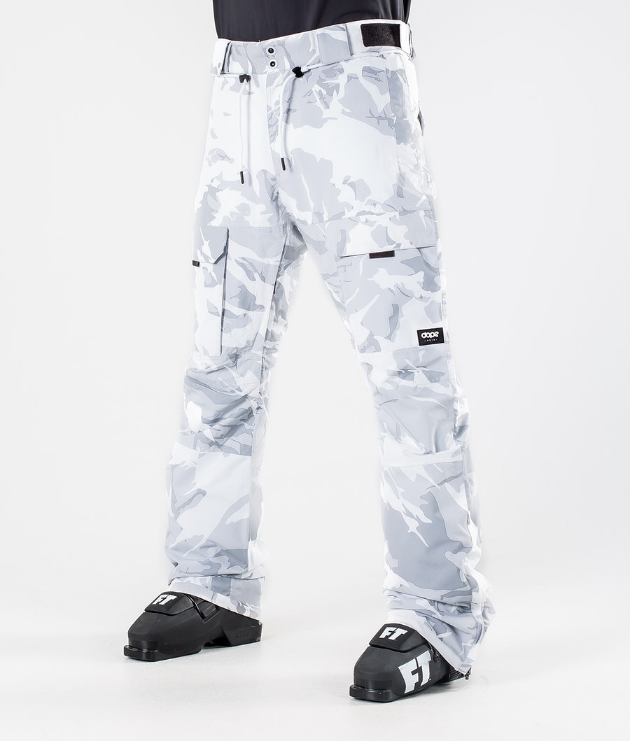 Dope Poise Ski Pants Tucks Camo