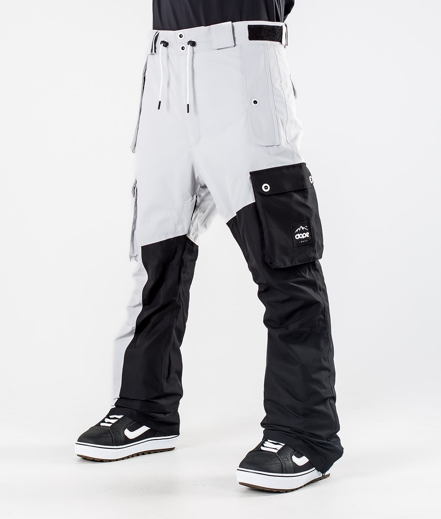 Dope Adept Snowboardbukse Light Grey/Black