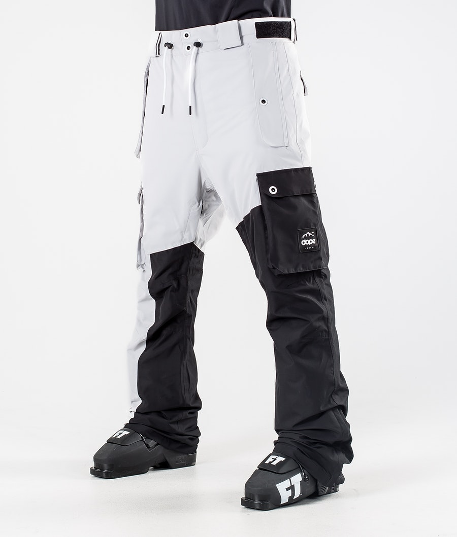 Dope Adept Ski Pants Light Grey/Black