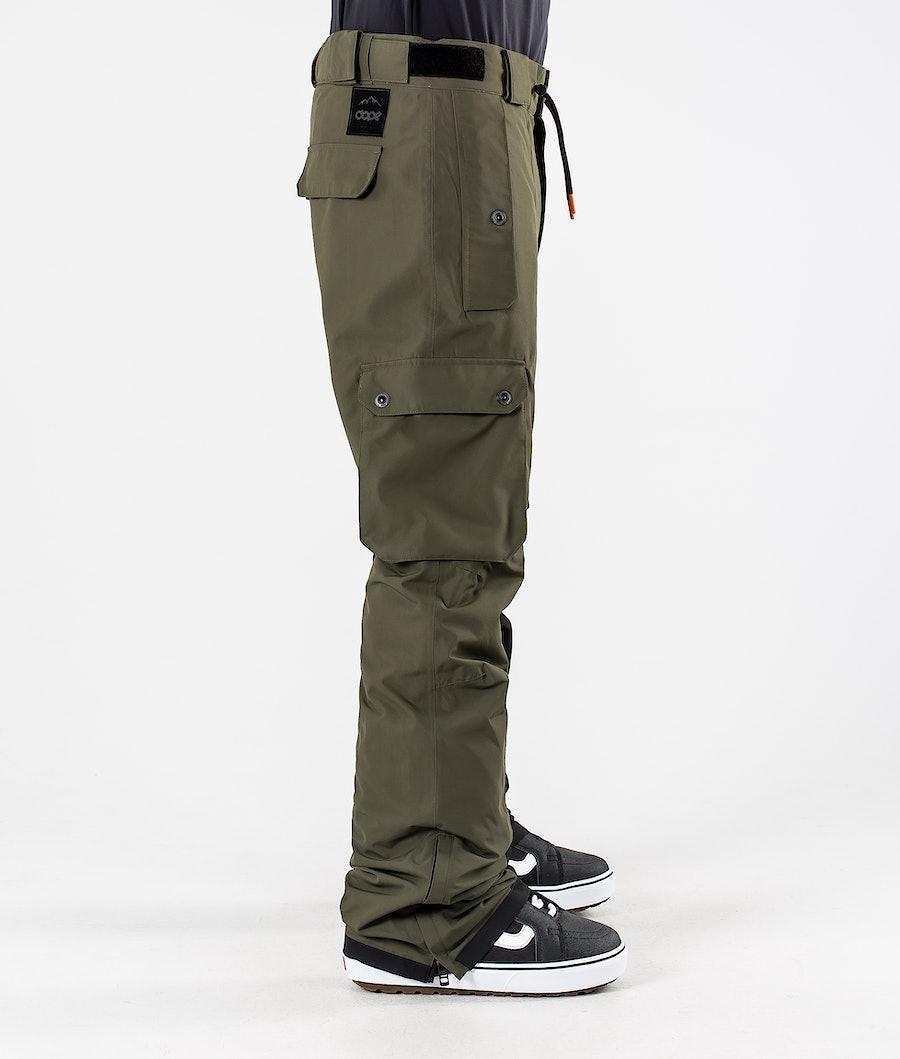Dope Adept Snowboardhose Olive Green/Black