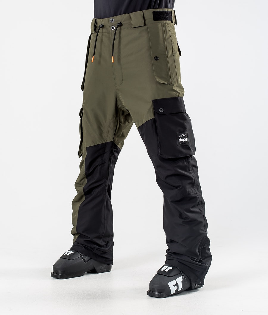 Dope Adept Ski Pants Olive Green/Black
