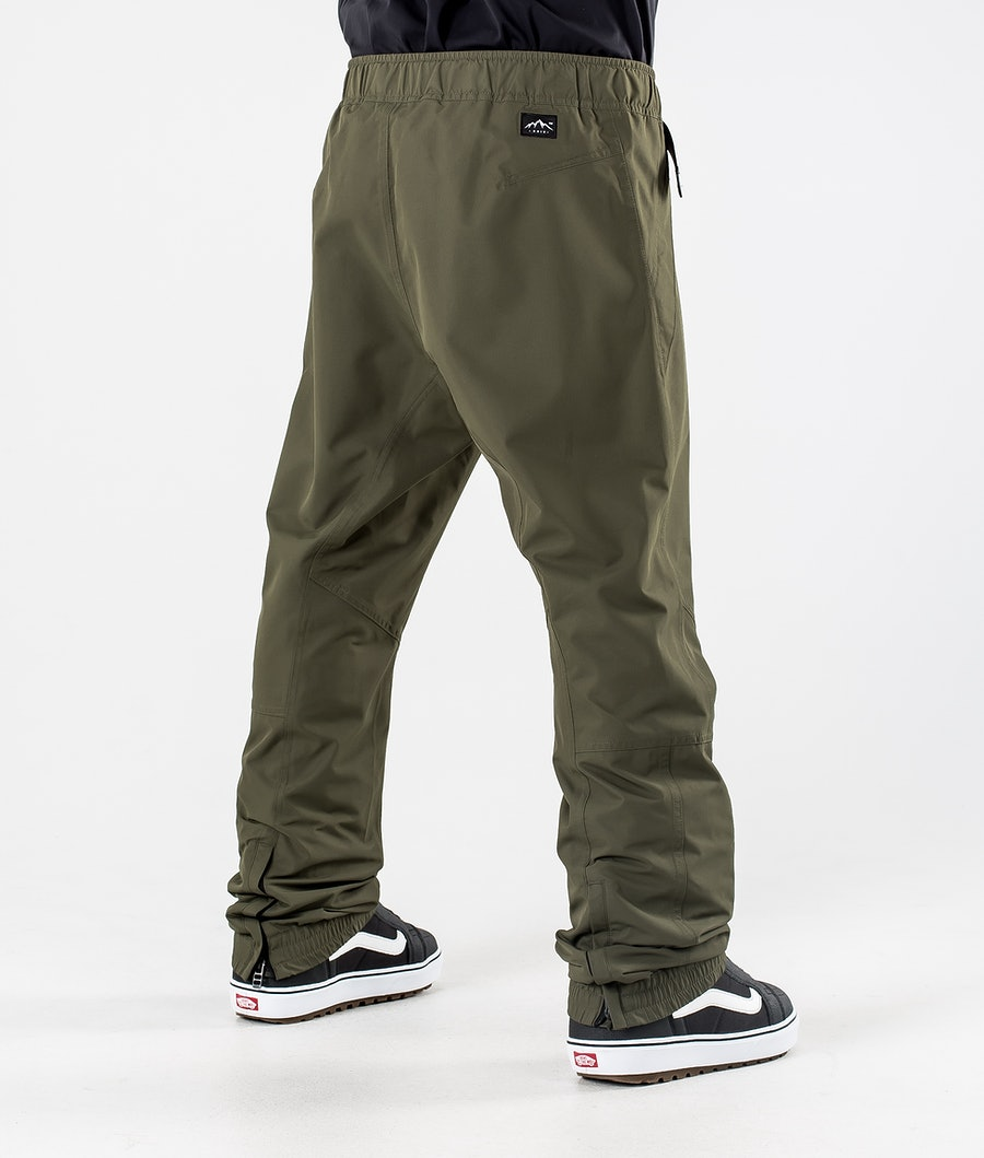 Dope Blizzard Pantalon de Snowboard Olive Green