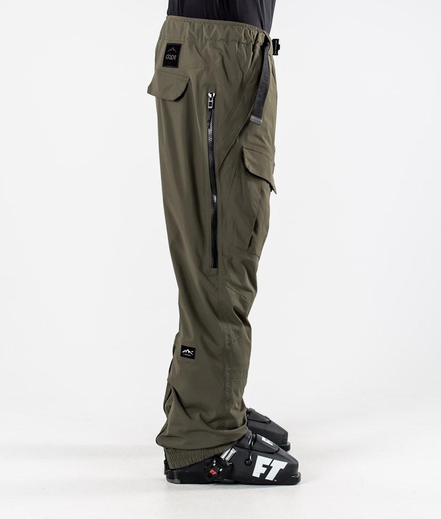 Dope Antek Ski Pants Olive Green