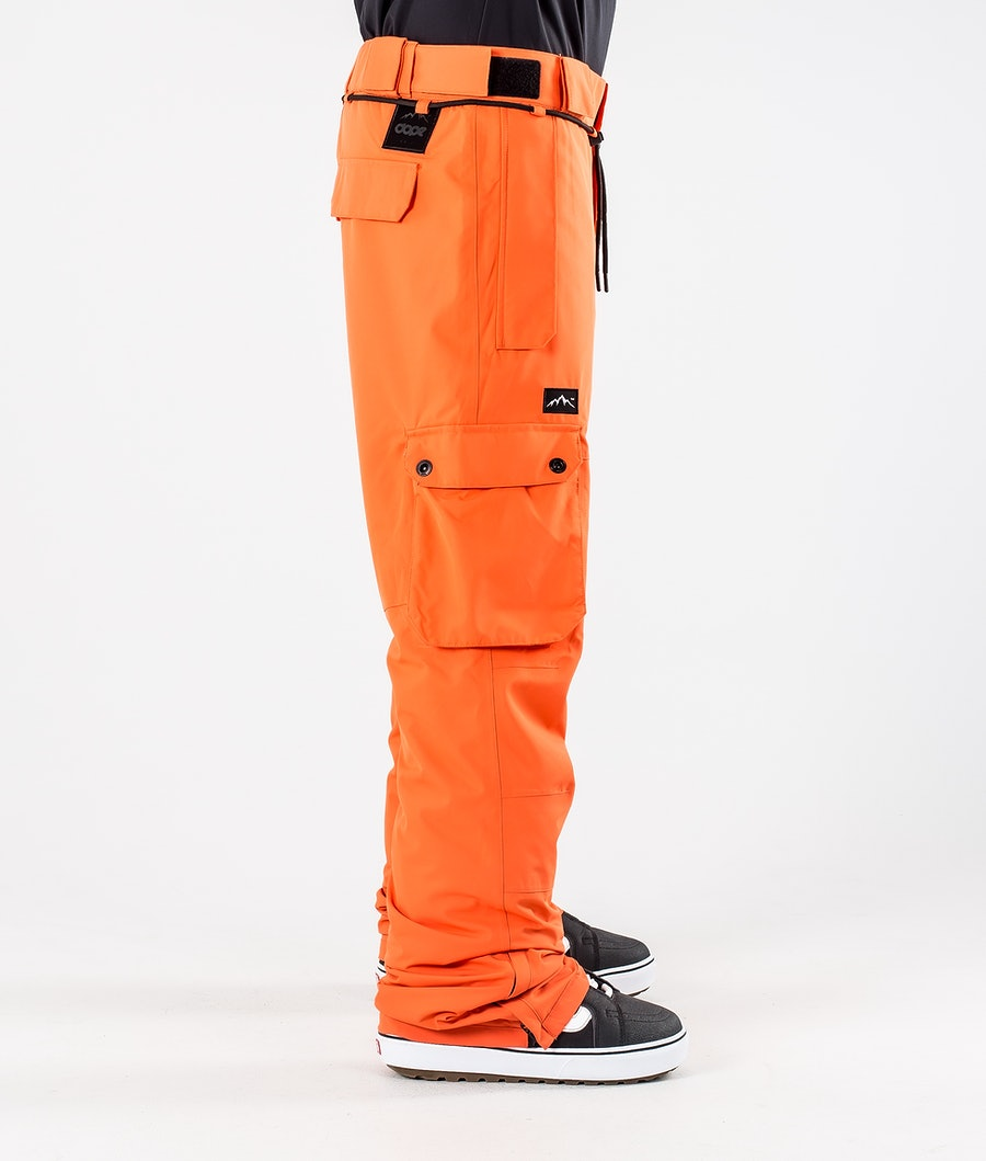 Dope Iconic Snowboardhose Orange