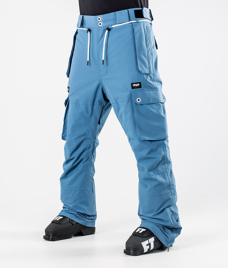Dope Iconic Ski Pants Blue Steel