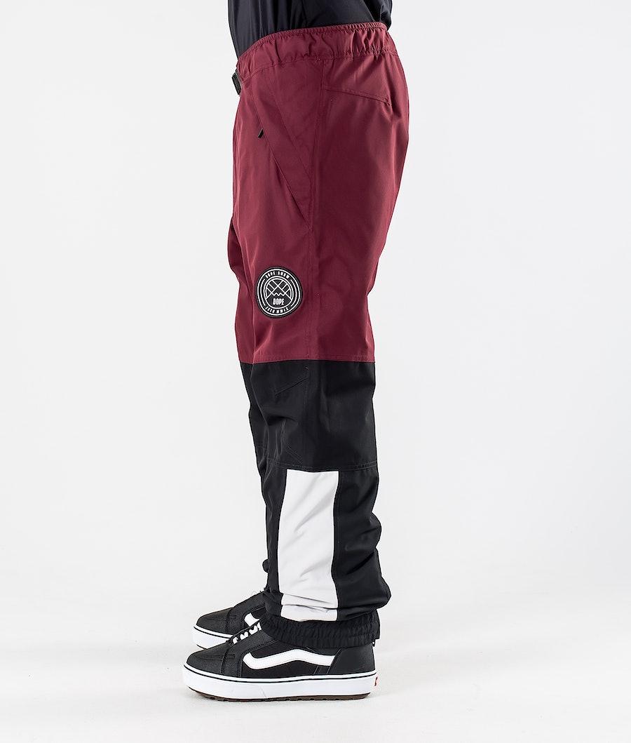 Dope Blizzard LE Snowboard Pants Burgundy Multicolour