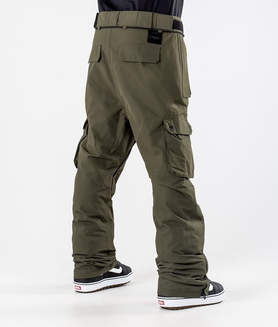 Dope Iconic Snowboardhose Olive Green