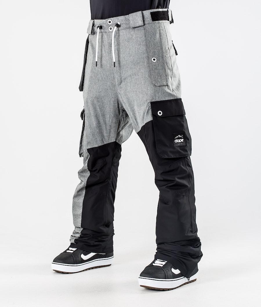 Dope Adept Snowboardhose Grey Melange/Black