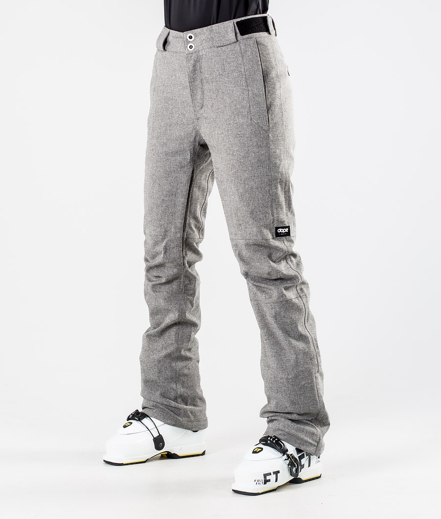 Dope Con Ski Pants Grey Melange