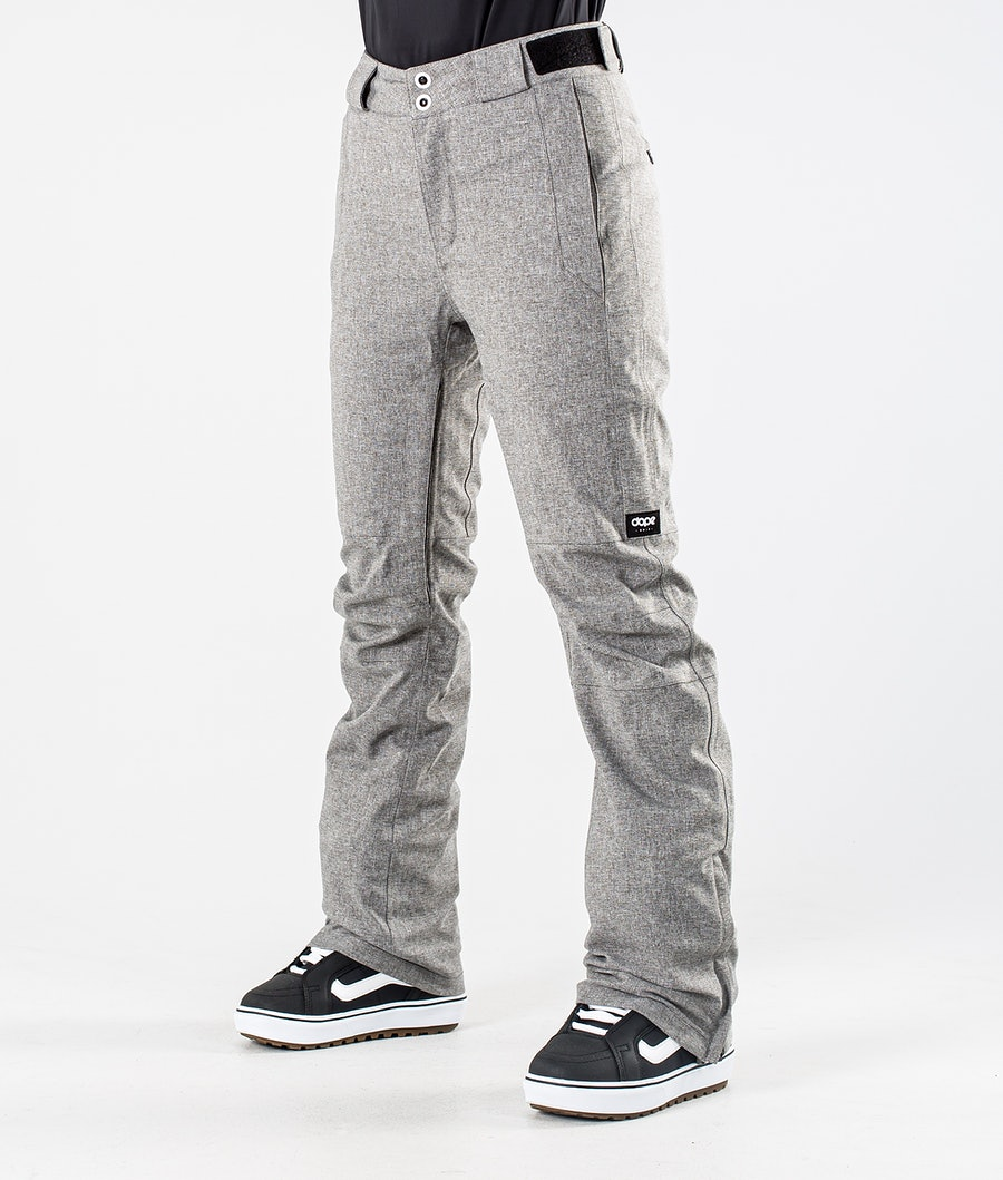 Dope Con Pantaloni da Snowboard Grey Melange